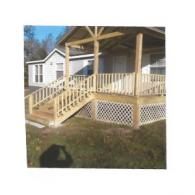A new deck was the perfect addition to this home.